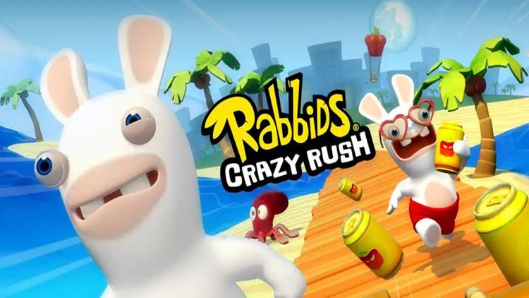 """rabbids-crazy-rush-android-ios Rabbids Crazy Rush: sucesso apesar do batido estilo """"runner"""""""