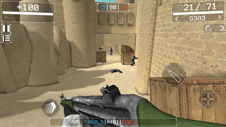 squad-strike-3-1 Squad Strike 3: FPS permite montar partidas OFFLINE contra bots