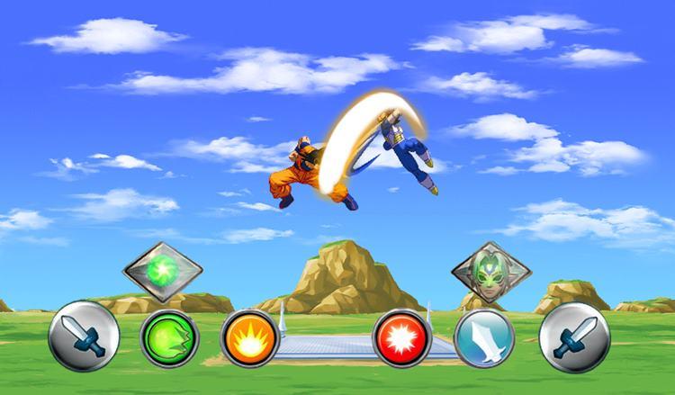 Goku-Saiyan-for-Super-Battle-Z 12 Melhores Jogos de Dragon Ball Z para Android