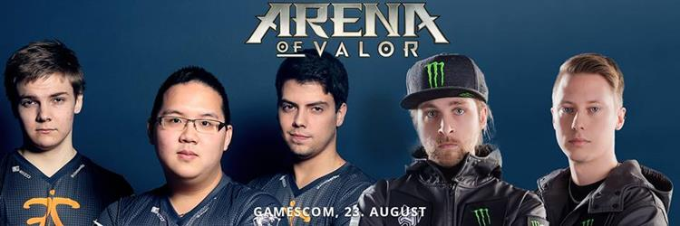 arena-of-valor-gamescom-2017 Arena of Valor: ESL promove o jogo na Gamescom 2017