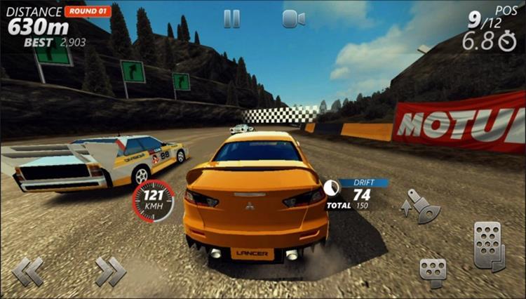 driveline-rally-android-1 Driveline: Rally com gráficos realistas, OFFLINE e tamanho reduzido para Android