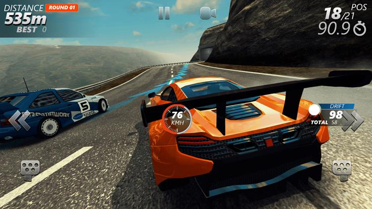 driveline-rally-android-offline Driveline: Rally com gráficos realistas, OFFLINE e tamanho reduzido para Android