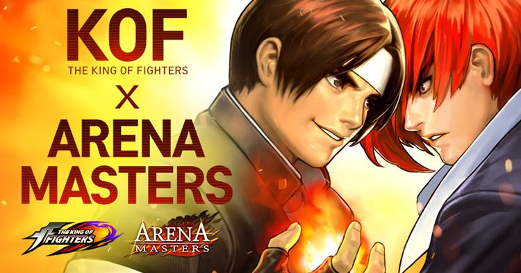 kof-in-arena-masters Personagens de The King of Fighters estão na atualização de Arena Masters