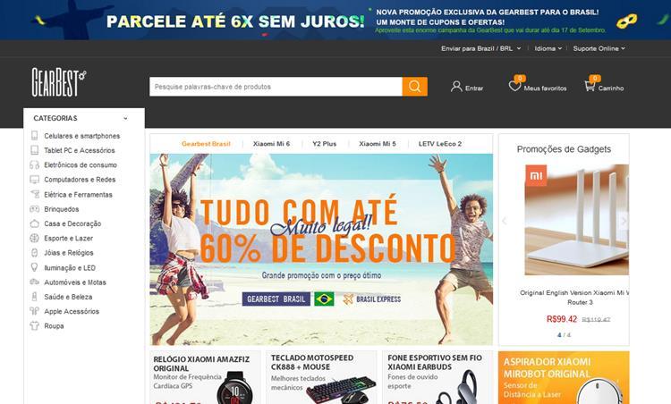loja-gearbest-brasil GearBest lança site focado no Brasil. Confira a promoção de celulares!