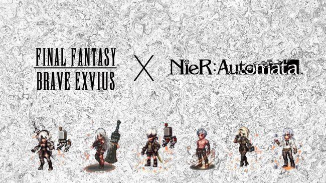 nier-automata-final-fantasy-android NieR: Automata vai fazer uma pontinha 2D em FINAL FANTASY BRAVE EXVIUS