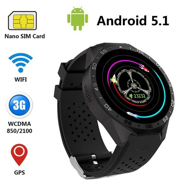 relogio-inteligente-kingwear-kw-88-2 Os Melhores Smartwatches Chineses Baratos de 2017