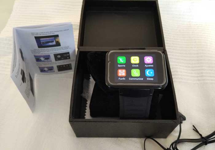 smartwatch-domino-dm98-1 Os Melhores Smartwatches Chineses Baratos de 2017