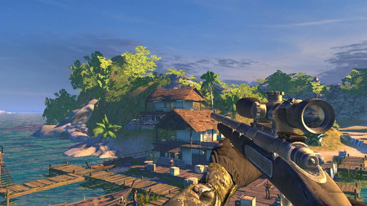 """sniper-ghost-warrior-2 Sniper: Ghost Warrior - jogo de tiro traz gráficos """"pesados"""" no Android e iOS"""