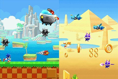 sonic-runners-adventure-java Gameloft lança oficialmente Sonic Runners Adventure no Android e Java