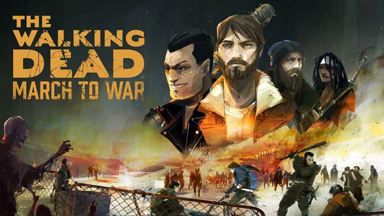 the-walking-dead-march-war The Walking Dead: March To War - game chega ao celulares, mas não é bem recebido