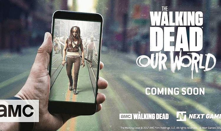 the-walking-dead-our-world The Walking Dead: Our World - Jogo de realidade aumentada ganha trailer para Android e iOS