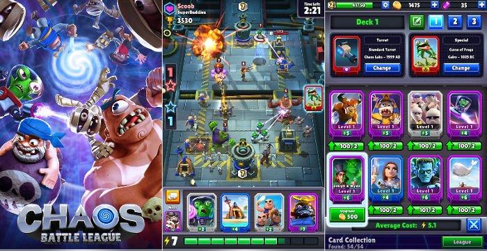 Chaos-Battle-League Chaos Battle League é a melhor game inspirado em Clash Royale até agora