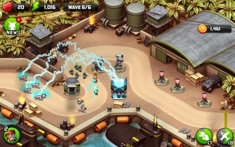 alien-creeps-td 25 Melhores Jogos OFFLINE de Estratégia para Android e iPhone