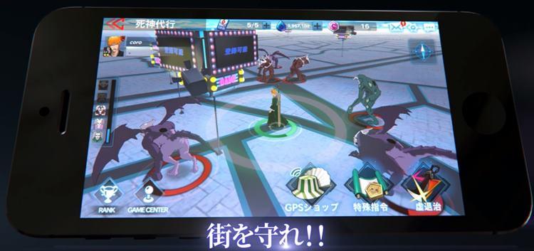BLEACH: Paradise Lost – anime vai ganhar jogo no estilo Pokémon GO no Japão