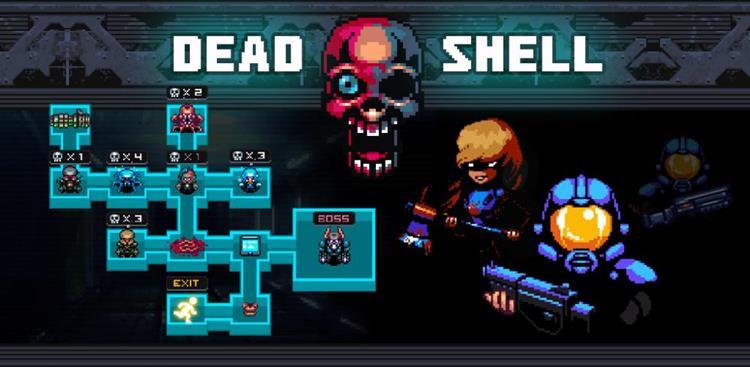 Dead Shell é um DOOM transformado em RPG Roguelike