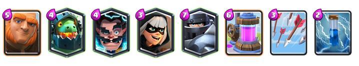 melhor-deck-mega-cavaleiro-2 Melhores Decks para utilizar o Mega Cavaleiro em Clash Royale