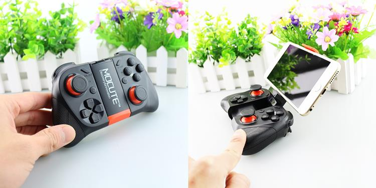 mocute-050-android-iphone-controle-bluetooth Os 10 melhores controles para Android