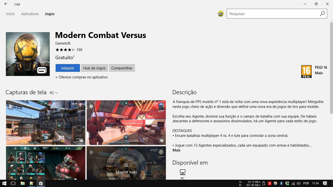 modern-combat-versus-pc-windows-10-computador Veja como Baixar Modern Combat Versus no PC com Windows 10