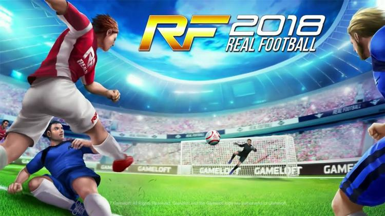 real-football-2018-android Real Football 2018 chega para Celular Android e Java!