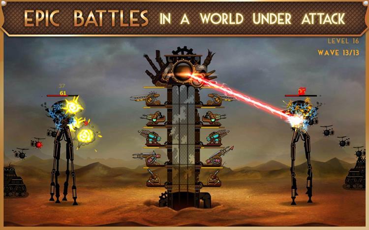 steampunk-tower 25 Melhores Jogos OFFLINE de Estratégia para Android e iPhone