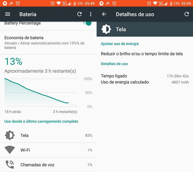 20-horas-de-tela-k10000-pro Review do Oukitel K10000 Pro, o smartphone com a melhor bateria de 2017