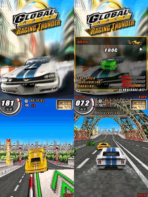 Global-Race-Raging-Thunder-symbian Top 10 Melhores Jogos Symbian S60v3 de Todos os Tempos