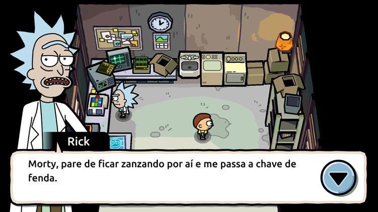 Pocket-mortys-2 30 Melhores Jogos RPG OFFLINE para Android e iOS