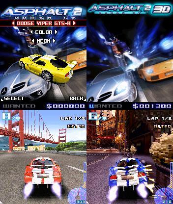 asphalt-gt-2-symbian Top 10 Melhores Jogos Symbian S60v3 de Todos os Tempos