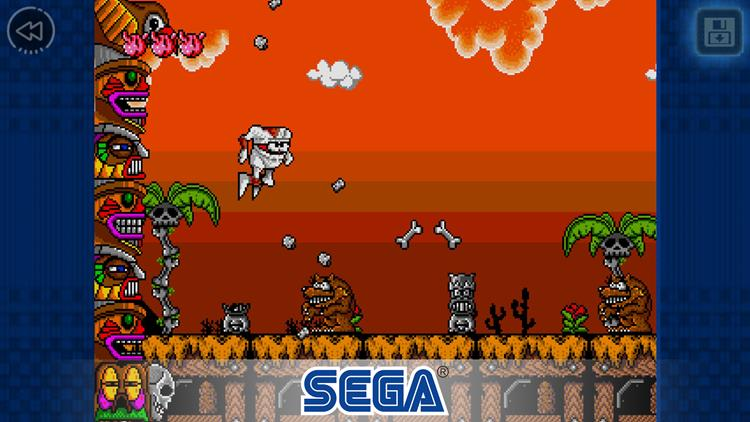 decap-attack-classic Decap Attack Classic: jogo de 1991 é o novo game grátis da SEGA Forever