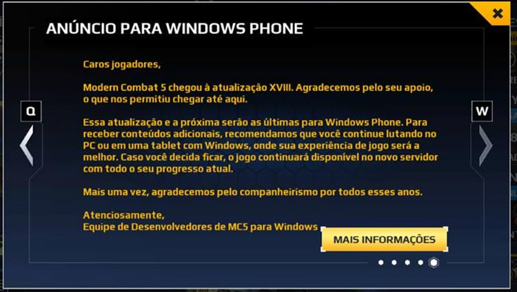 gameloft-adeus-ao-windows-phone-windows-10-mobile Gameloft Desiste de Vez do Windows 10 Mobile e Windows Phone