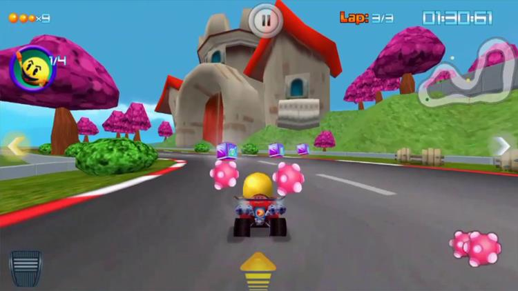 pac-man-rally-android-multiplayer 30 Melhores Jogos Multiplayer OFFLINE no Android (Bluetooth e Wi-Fi Local)