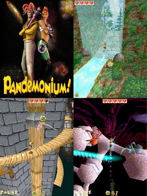 pandemonium-symbian Top 10 Melhores Jogos Symbian S60v3 de Todos os Tempos