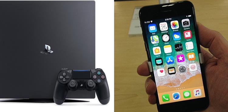 ps4-vs-iphone-8 Pare de Comparar Smartphones com os Consoles de Videogame da Geração Atual