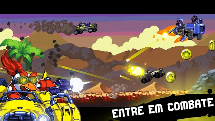 road-warriors-android-iphone-2 Road Warriors - game com carrinhos e visual 16bits (Android e iPhone)