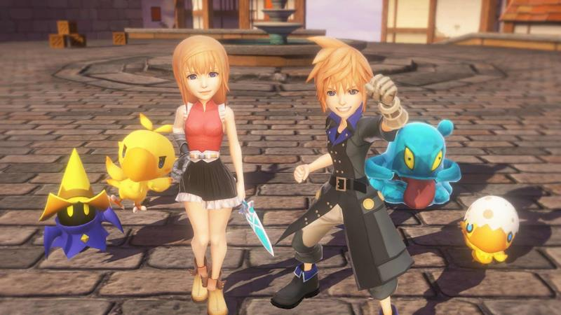 World-of-Final-Fantasy-android-iphone World of Final Fantasy chega ainda este ano ao Android e iOS