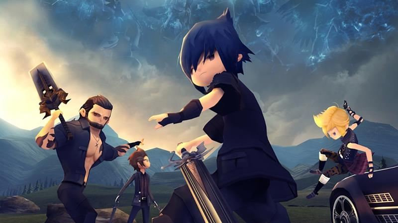 final-fantasy-pocket-edition Final Fantasy XV Pocket Edition é lançado para Android e iOS