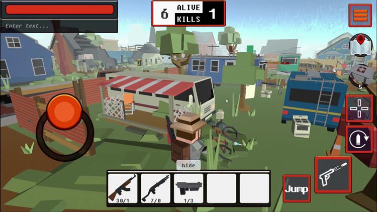 grand-battle-royale 10 Jogos para Android parecidos com Battlegrounds (PUBG)