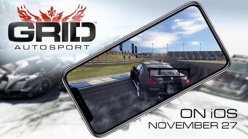 grid-autosport-iphone Vídeo compara Grid Autosport com Real Racing 3 (no iPhone X)