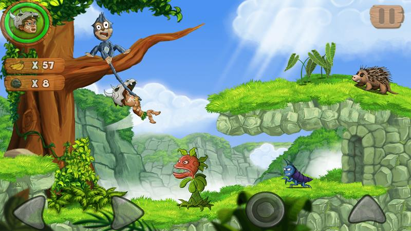 jungle-adventures-2-android-iphone Jungle Adventures 2: jogo offline de plataforma inspirado em clássicos