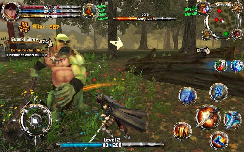 kingdom-quest-crimson-warden 30 Melhores Jogos RPG OFFLINE para Android e iOS