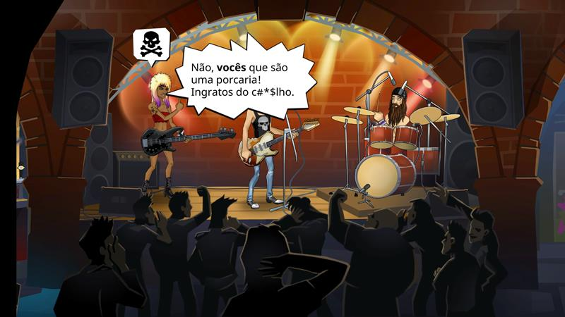 kiss-rock-city-2 KISS Rock City: toque com a banda neste jogo casual e OFFLINE