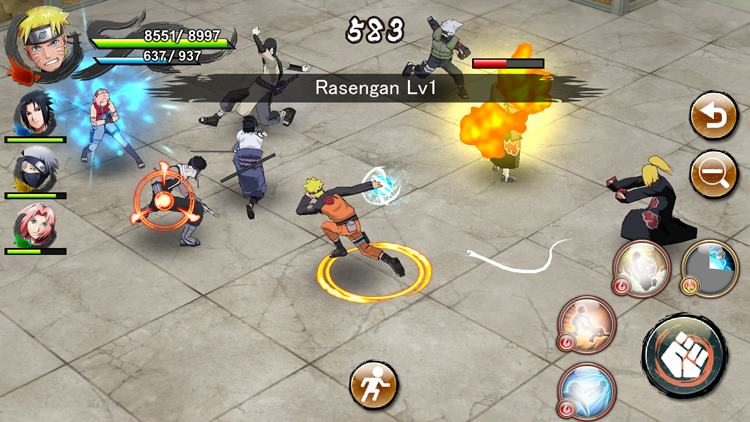 naruto-boruto-ninja-voltage-android-apk Melhores Jogos de Anime para Celular Android de 2018 (até agora)