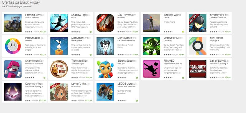 oferta-black-friday-google-play-jogos-premium Veja Jogos Pagos de Graça e em Promoção na Black Friday da Google Play