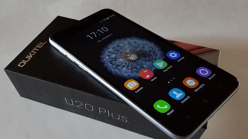 oukitel-u20-plus 5 Melhores Celulares Chineses com Android até R$ 300 reais