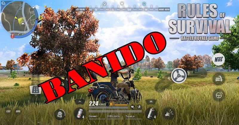RULES-OF-SURVIVAL-HACK-MOD-BANNED Rules of Survival começa a banir quem faz MOD e HACK