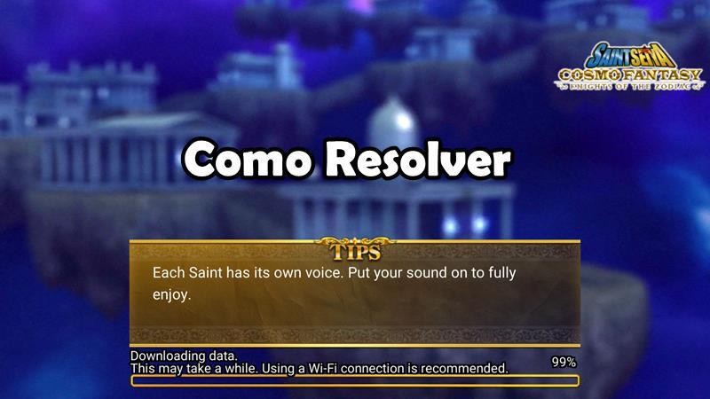 como-resolver-problema-saint-seiya-cosmo-fantasy-android-ios Como resolver o erro ao baixar Saint Seiya Cosmo Fantasy