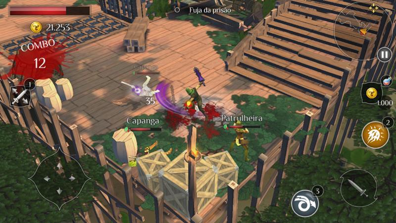 dungeon-hunter-6-5 30 Melhores Jogos RPG OFFLINE para Android e iOS