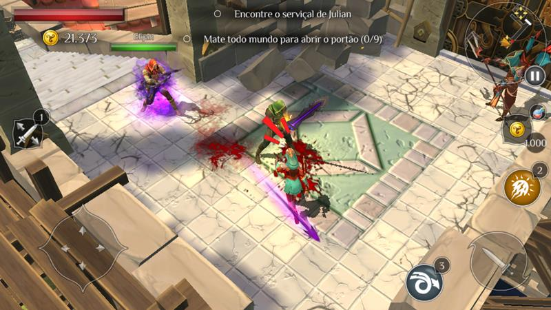 dungeon-hunter-6-6 Dungeon Hunter 6: Curse of Heaven é pago e OFFLINE (Android)