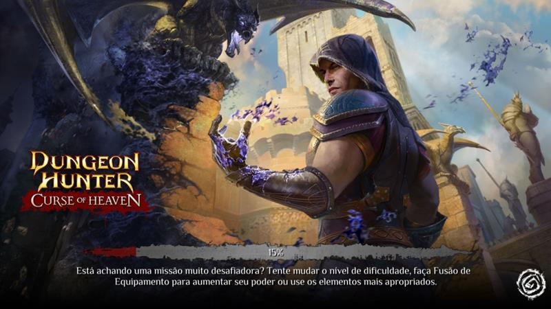 dungeon-hunter-curse-of-heaven Gameloft realiza livestream do novo Dungeon Hunter: Curse of Heaven