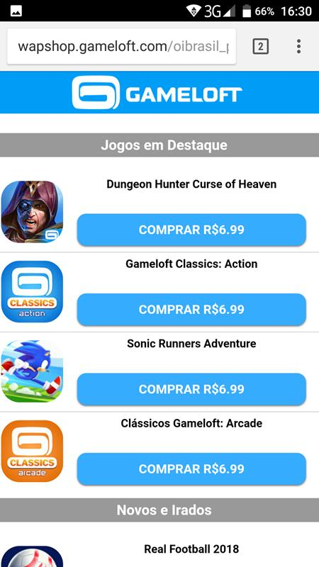 gameloft-wapshop Dungeon Hunter 6: Curse of Heaven é pago e OFFLINE (Android)